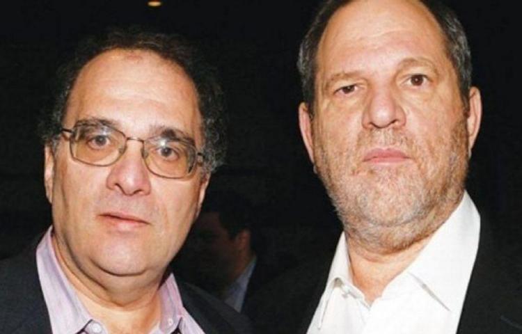 Harvey Weinstein fue confrontado por su hermano