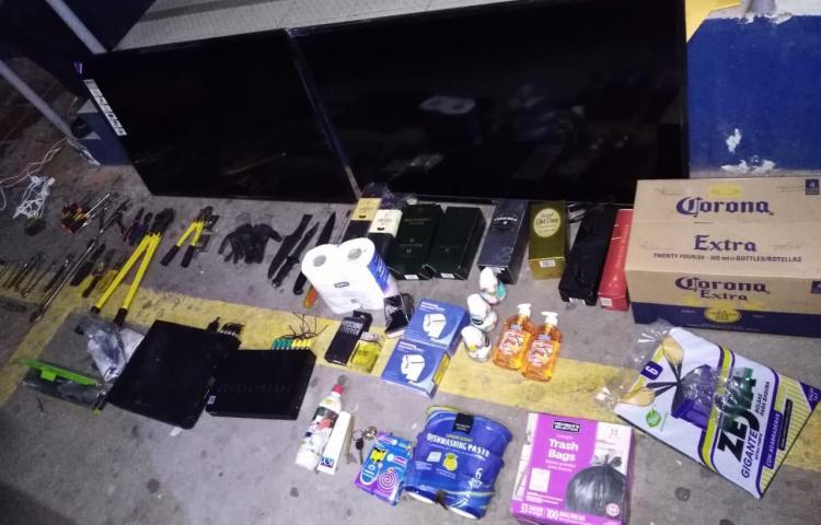 Aprehenden a tres sospechosos de robo en Bella Vista