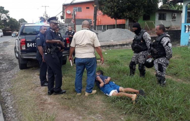 Caen dos por homicidio de agente de seguridad en La Chorrera