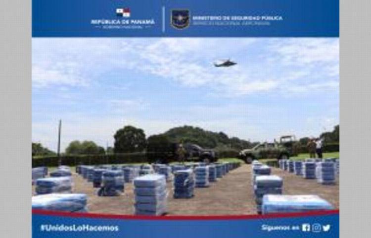 Decomisan 1,600 paquetes de droga en Comarca Guna Yala