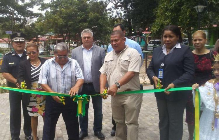 Inauguran espacio recreativo y deportivo