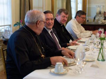 Conferencia Episcopal Panameña trata temas de educación y justicia con Cortizo