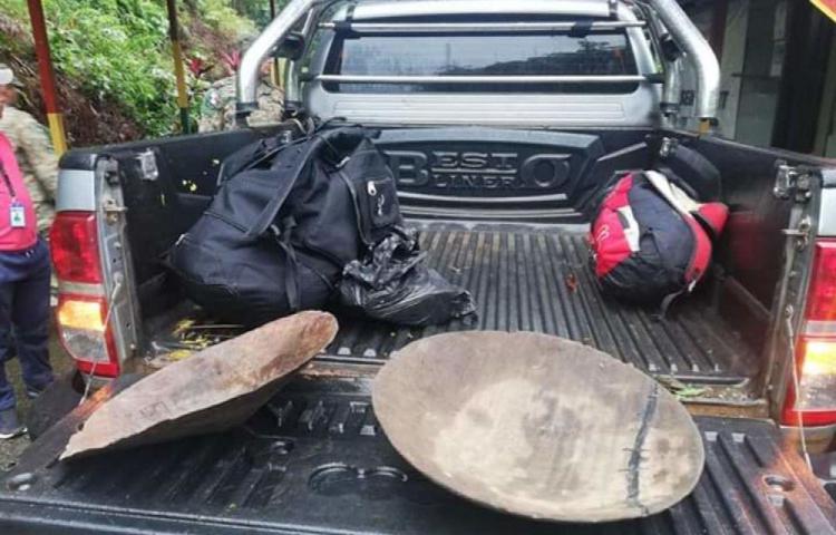 Buscadores ilegales de oro fueron retenidos por indígenas gunas