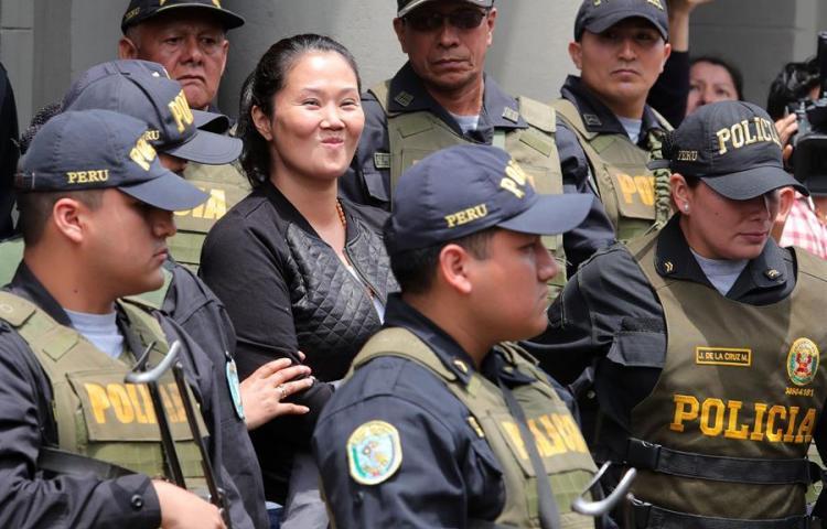 Corte reduce a 18 meses de prisión a Keiko Fujimori