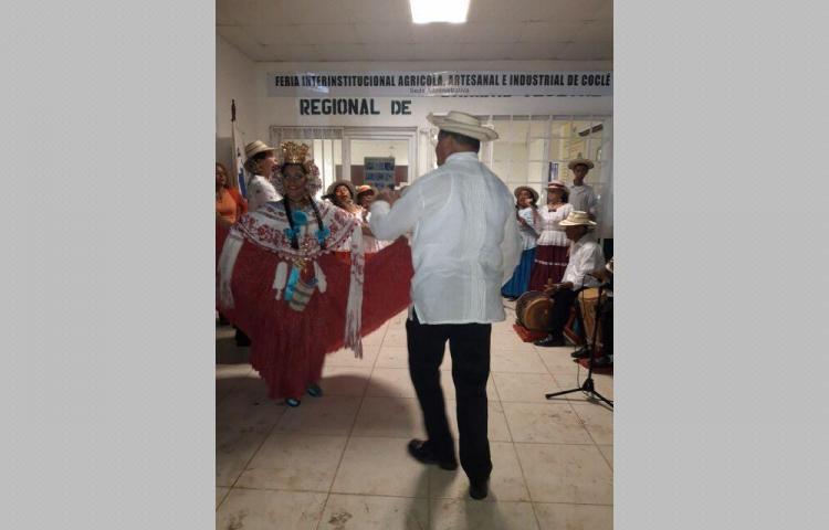 Concurrida inauguración de la Feria en Coclé