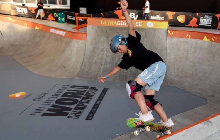Misugu Okamoto, campeona del Mundial de Skate