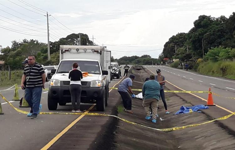 Accidente de tránsito deja a una persona sin vida en Boquete