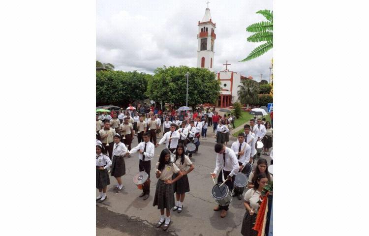 Alanje celebró en grande sus 428 años de fundación