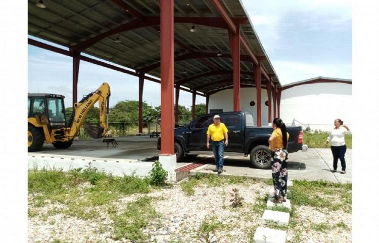 Instalarán sistema de tuberías para planta secadora de cebolla