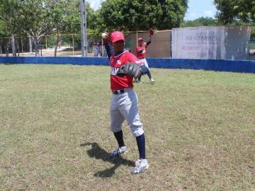Instalados en la súper rondaen el Premundial de Béisbol Sub-15