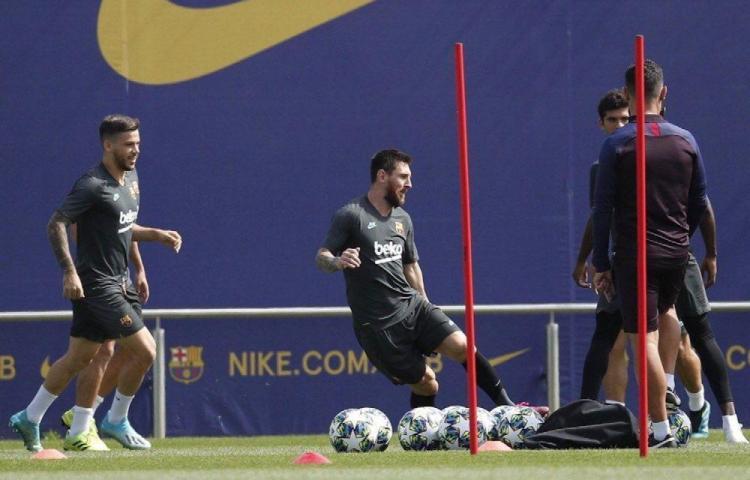 Leo Messi listo para volver