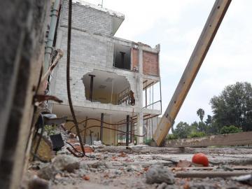 Las profundas heridas del terremoto de 2017 en México cicatrizan lentamente