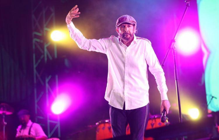 Juan Luis Guerra se tiró un 'conciertazo'
