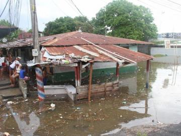 Las inundaciones, los eventos climáticos que ocurren con mayor frecuencia en Panamá