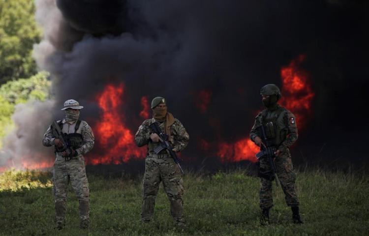 Panamá decomisa una tonelada de cocaína escondida en caletas subterráneas