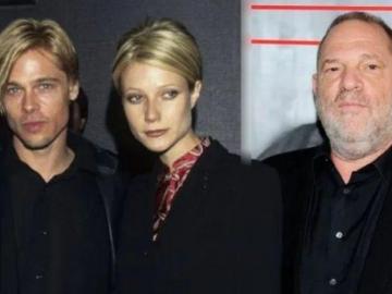 Brad Pitt amenazó de muerte a Harvey Weinstein