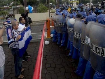 Tres nuevos heridos dejó ayer una manifestación opositora en Nicaragua
