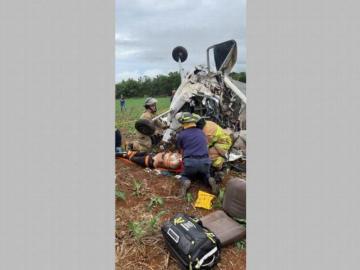 Sobreviviente del accidente aéreo en Guararé muere en el hospital