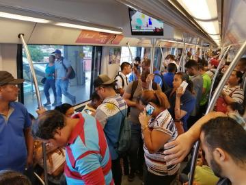 Línea 1 del Metro nuevamente paralizada