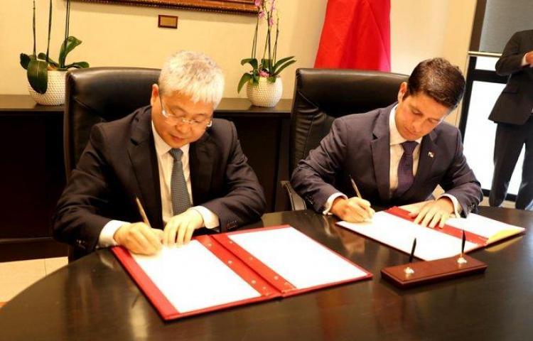 Cancilleres de Panamá y China sostuvieron encuentro bilateral