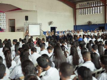 A más de nueve mil 500 jóvenes les dieron orientación vocacional