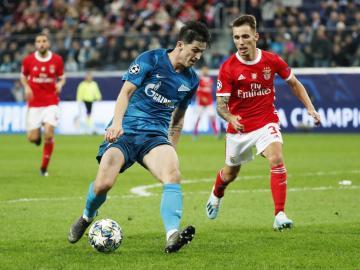 El Zenit liquidó a un triste Benfica