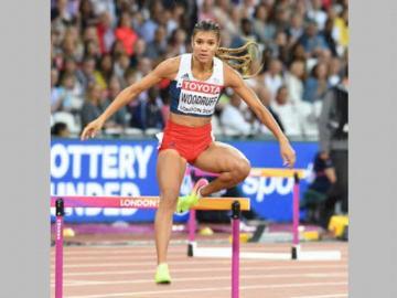 Gianna Woodruff, fuera del Mundial de Atletismo Doha 2019.
