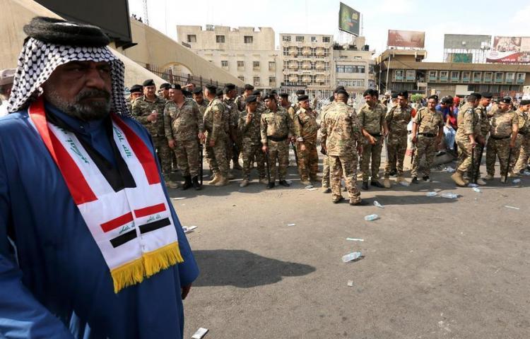 Suben a 19 los muertos y los heridos superan el millar en protestas en Irak