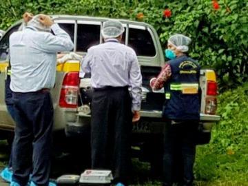 Un seguridad en Herrera se metió un plomazo con una escopeta