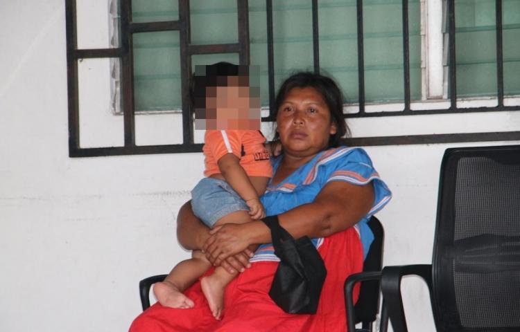 Funcionario del SINAPROC recuperó bebé que intentó llevarse un sujeto