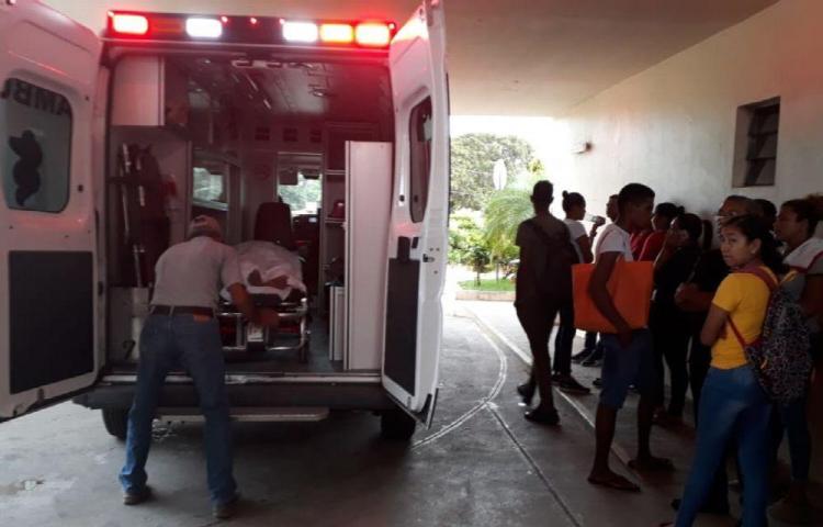Embarazada pierde la vida en un choque