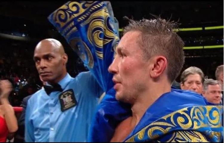 """Golovkin: """"Fue una pelea difícil, pero estoy listo para enfrentarme a Canelo"""""""