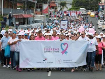 La población se suma a batalla preventiva contra el cáncer