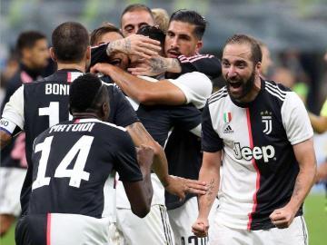 Una gran Juventus le pegó al Inter de milán