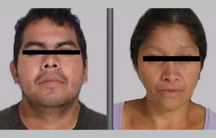 Les clavaron 327 años de cárcel a una pareja caníbal en México