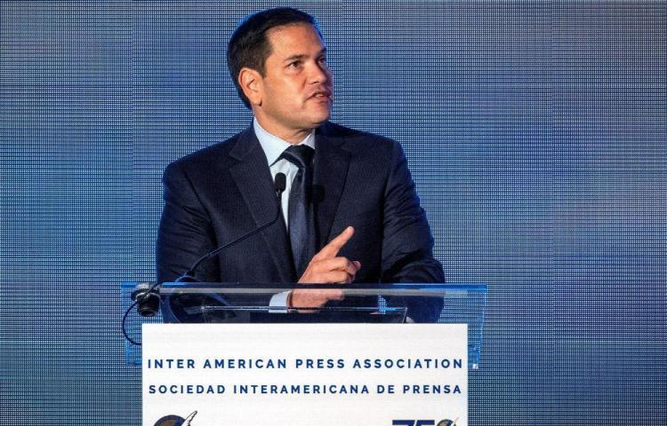 Rubio: Rusia no puede salvar a Maduro