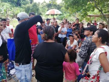 Derriban casas en invasión La Tosca en Chepo
