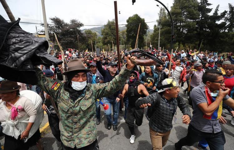 Lo que debes saber para entender las razones de las protestas en Ecuador