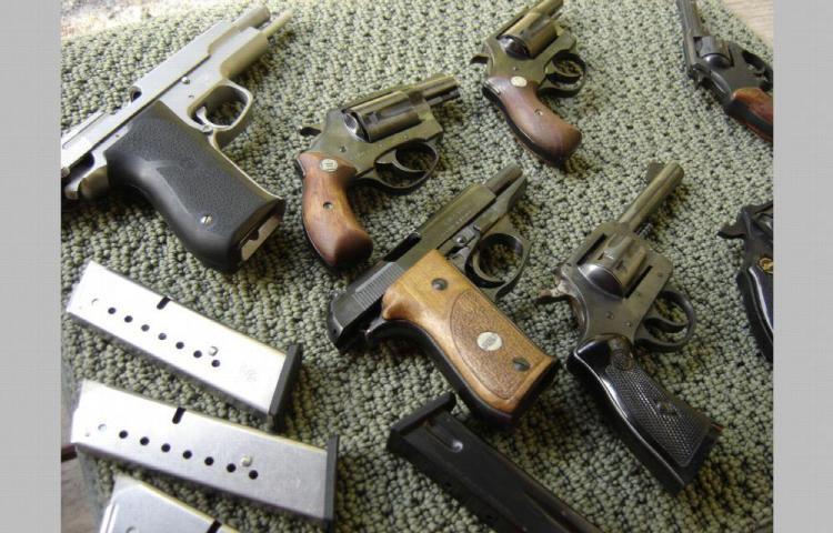 Pillos se robaron 11 armas de fuego