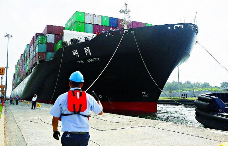 Canal cierra con récord de 469 millones de toneladas