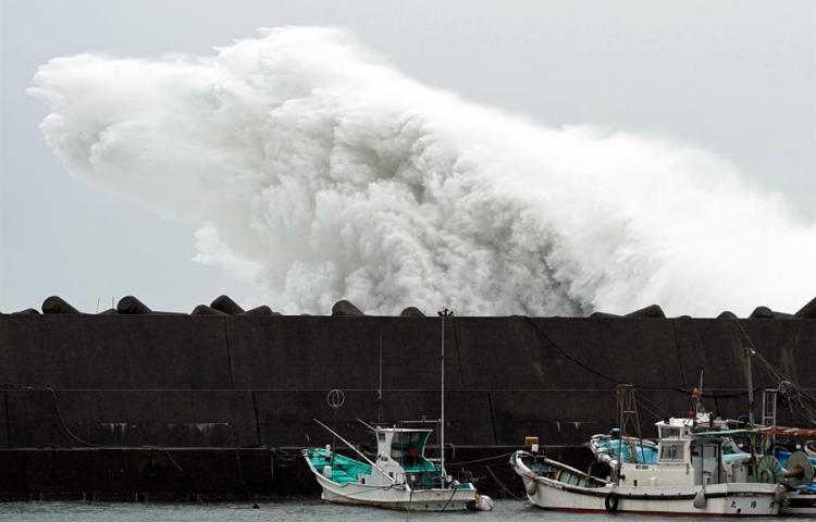 Un terremoto de magnitud 5,7 sacude Chiba mientras espera al tifón Hagibis