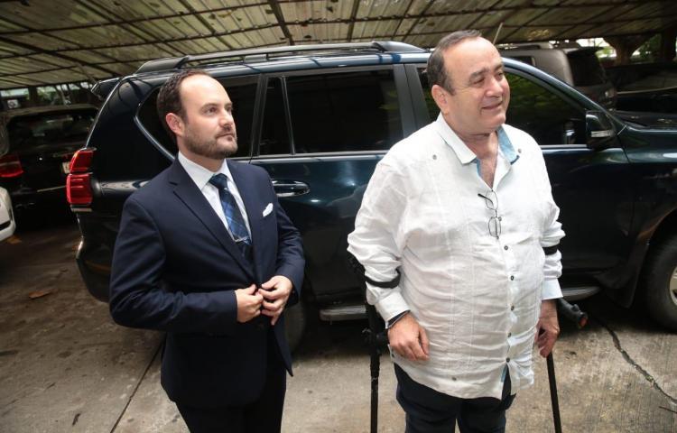 Presidente electo de Guatemala se encuentra en Panamá