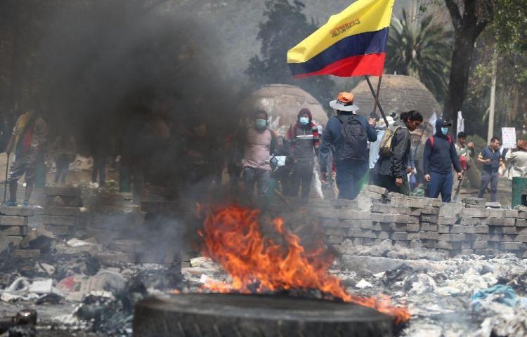 Las protestas en Ecuador han dejado siete muertos