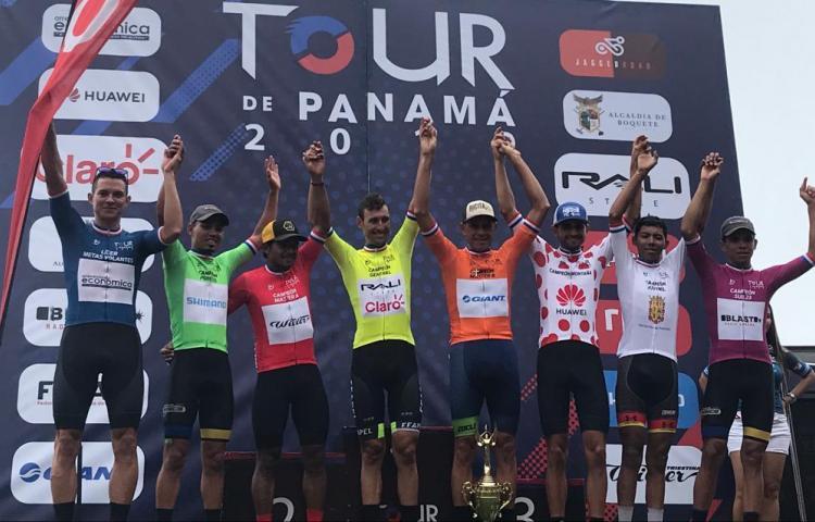 El uruguayo Fabricio Ferrari se tituló campeón del Tour de Panamá