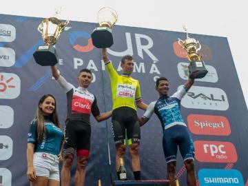 Fabricio Ferrari se consagró en la décima quinta edición del Tour de Panamá.