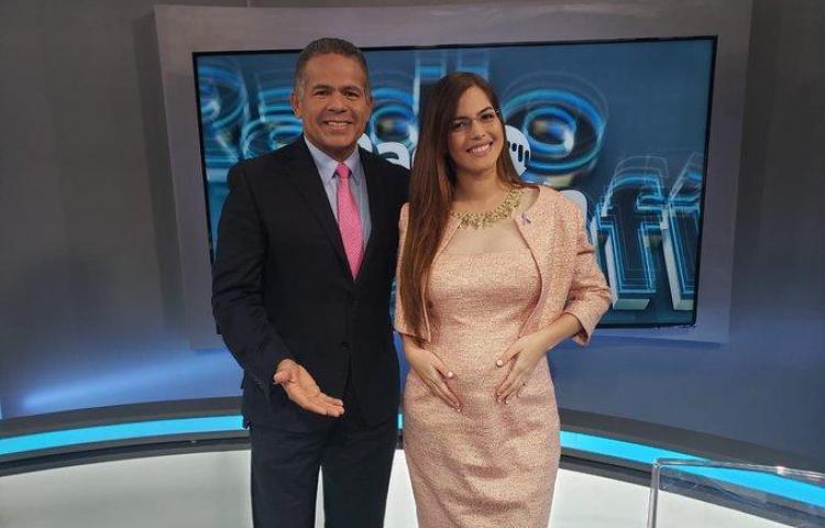 Génesis Arjona muestra su barriga y opina sobre diputado acusado por abuso sexual