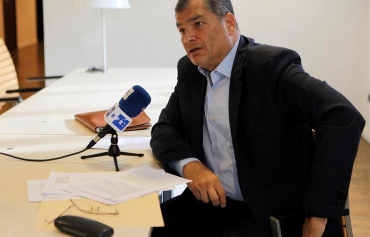"""Correa: """"El Gobierno de Lenín Moreno está clínicamente muerto"""""""