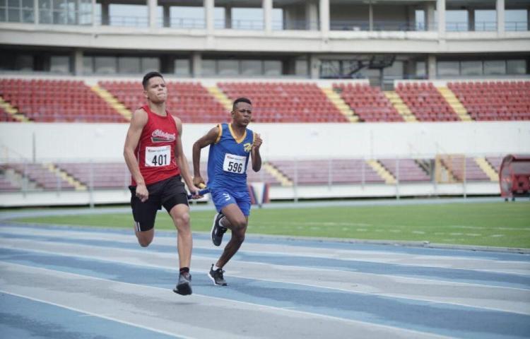 Panamá Centro, jefe del torneo de atletismo
