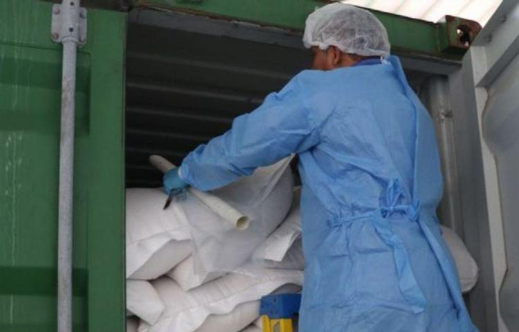 La Aupsa decomisa cargamento de 33 mil libras de leche en polvo