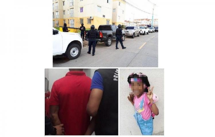 Detención provisional para los sospechosos de la muerte de una niña en Colón